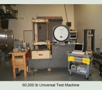 60,000 lb Universal Test Machine