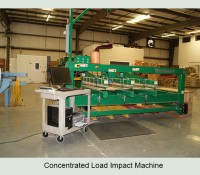 Concentrated Load Impact Machine