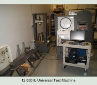 12,000 lb Universal Test Machine