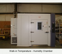 Walk-in Temperature-Humidity Chamber
