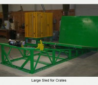 Large-Sled for Crates
